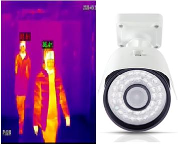 Termal kamera ile uzaktan ateş ölçümü yapılarak taşıyıcı olup olmadığı konusunda tedbir alınmış olur.