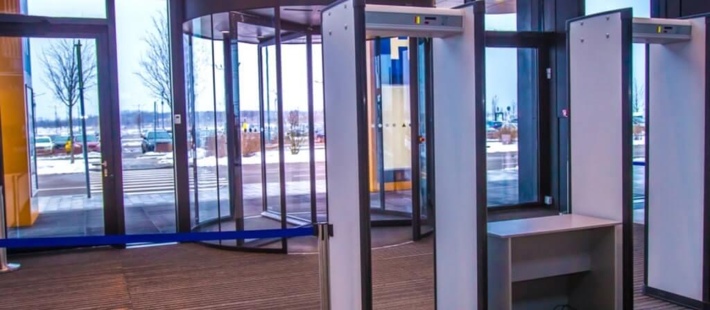 kapı tipi metal dedektörler